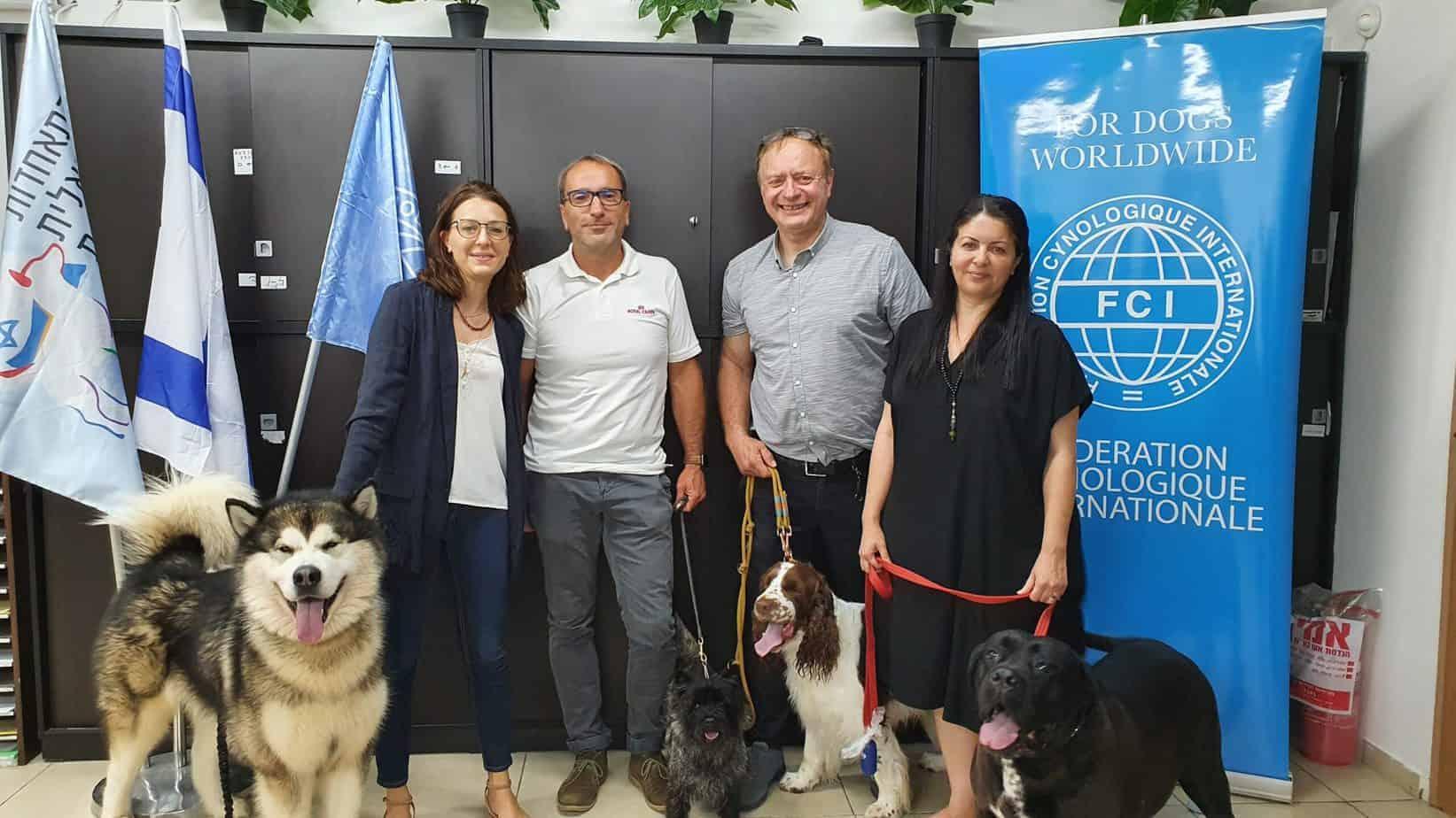 ההתאחדות לכלבנות ורויאל קנין הודיעו על שיתוף פעולה